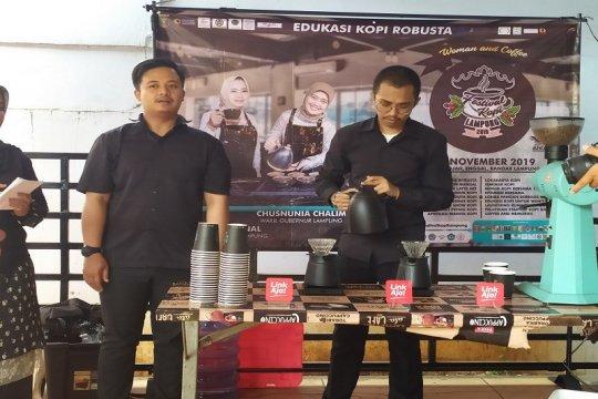 Tingkatkan konsumsi kopi Lampung melalui edukasi kopi