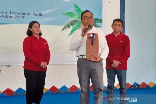 Penanggulangan tumpahan minyak usai, PHE bersihkan pantai Untung Jawa