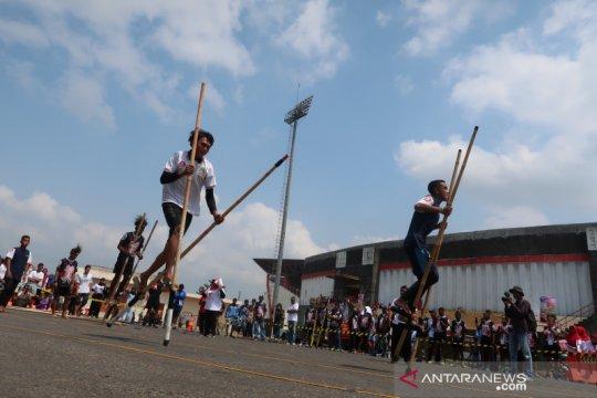 Pekan Olahraga Tradisional tandingkan lima cabang