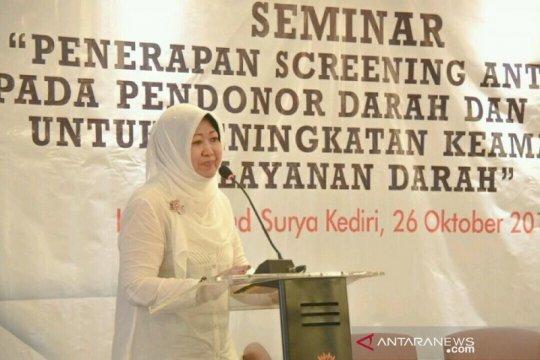 """""""Screening antibody"""" ke pendonor diperketat oleh PMI di Kediri"""