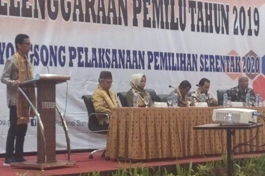 KPU Sumbar evaluasi penyelenggaraan Pemilu 2019
