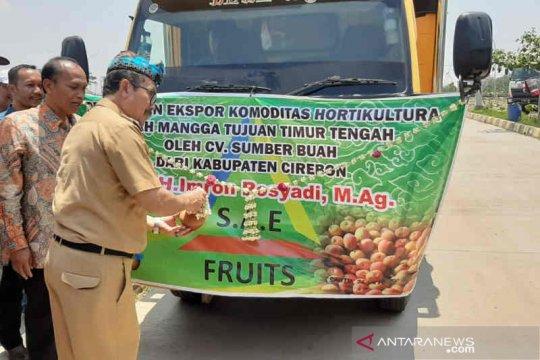 Bupati Cirebon lepas ekspor mangga ke Timur Tengah