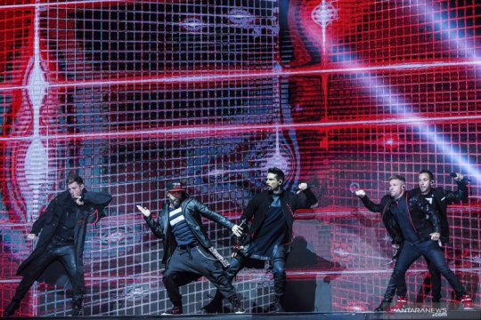 "Backstreet Boys ajak ""throwback"" di ""DNA World Tour in Jakarta"""