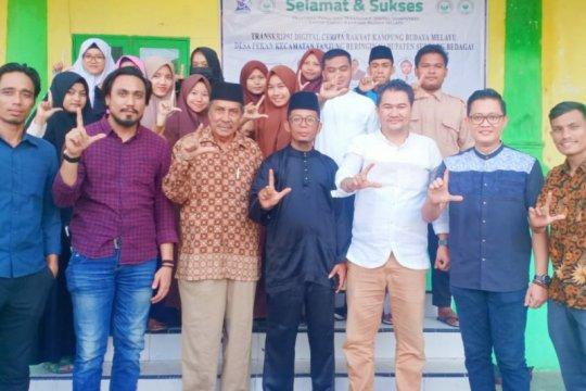 Pengabdian masyarakat  budaya Melayu digagas dosen Unimed