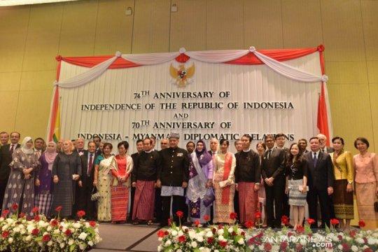 Indonesia-Myanmar rayakan peringatan 70 tahun hubungan diplomatik