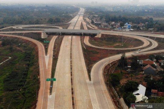 Progres pembangunan ruas tol Cinere-Cengkareng
