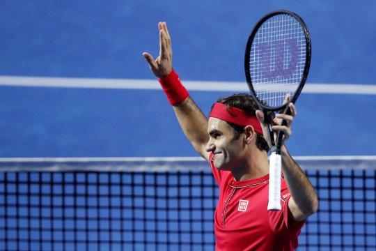 Federer cetak kemenangan pertama di grup Bjorn Borg