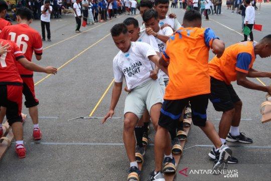 Banten jadi juara umum Pekan Olahraga Tradisional
