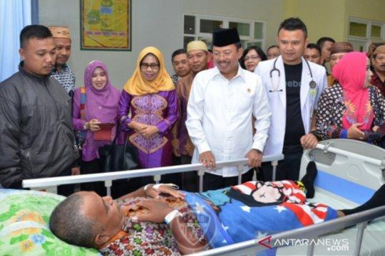 Menkes Terawan pertama kunjungan RS ke Ainun Habibie di Gorontalo