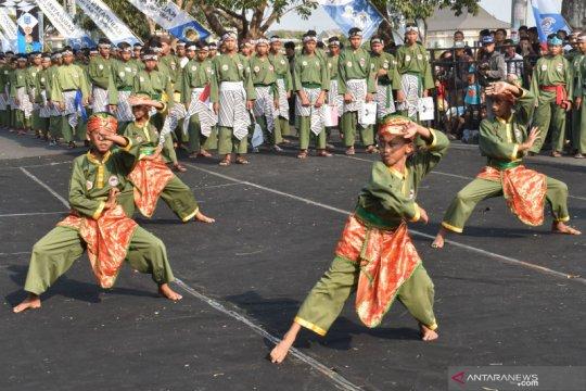 Festival kampung pesilat Indonesia