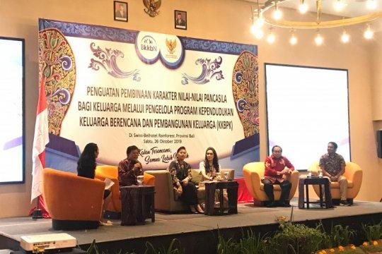 BKKBN sosialisasikan penguatan nilai pancasila bagi keluarga di Bali