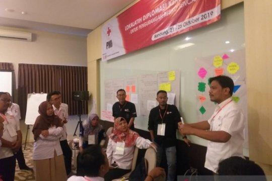 Lokalatih diplomasi kemanusiaan PRB digelar PMI