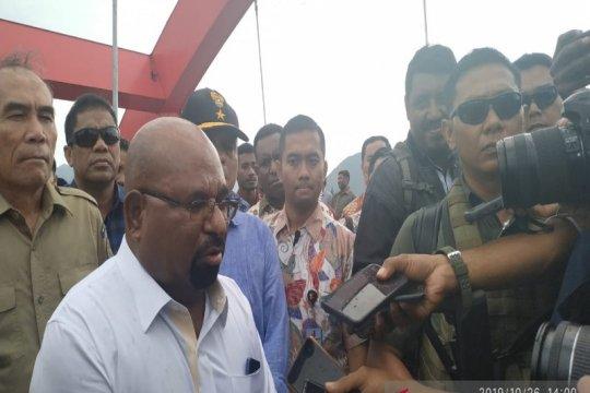 Gubernur Enembe apresiasi keterwakilan OAP di kabinet Jokowi