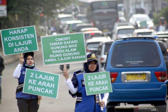 Sosialisasi rekayasa lalu-lintas jalur Puncak Bogor