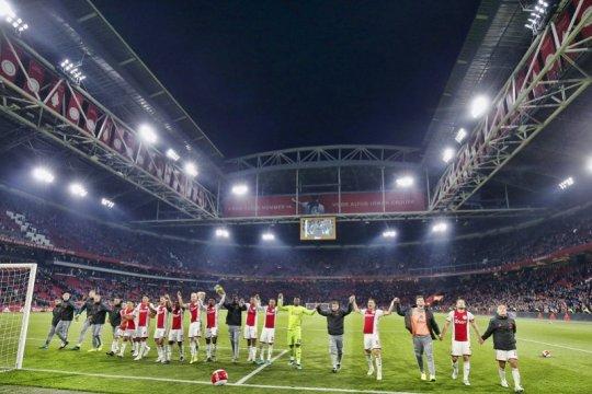 Hasil Liga Belanda: Ajax kuasai De Klassieker, kokohkan posisi puncak