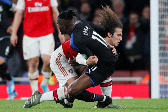 Arsenal buang keunggulan dua gol dan ditahan imbang Crystal Palace