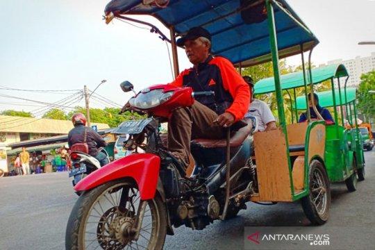 Odong-odong di Jakarta Pusat diimbau tidak lagi beroperasi