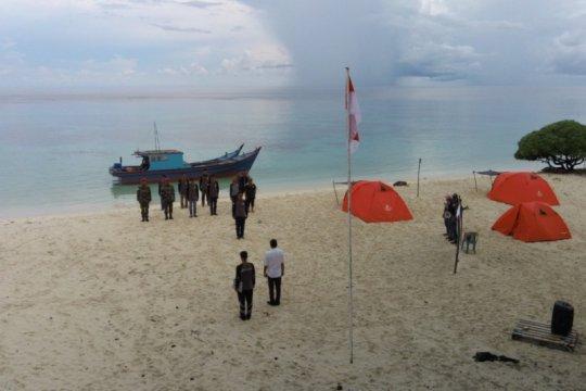 Pemuda Pulau Laut peringati Sumpah Pemuda di perbatasan RI-Vietnam