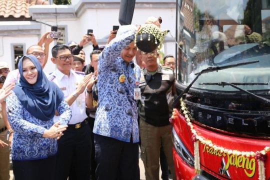 BRT Transjateng koridor Semarang-Kendal resmi diluncurkan