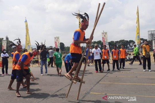 Banten juara umum Pekan Olahraga Tradisional Nasional 2019 di Bantul