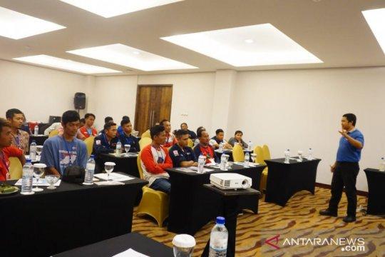 PMI menggelar pelatihan pembuatan hunian aman gempa