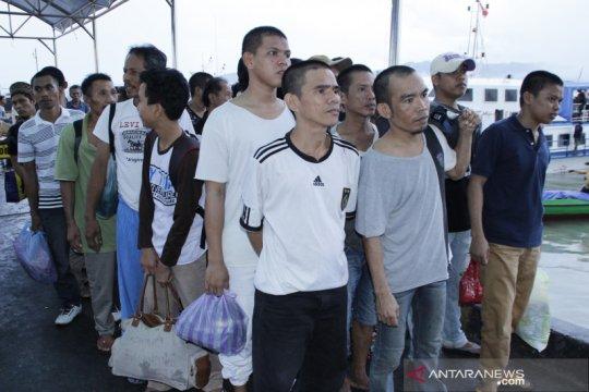 2.669 TKI Bermasalah dipulangkan ke Nunukan sepanjang 2019