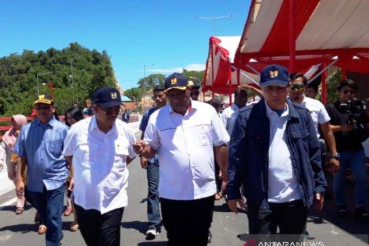 Wamen PUPR : Jembatan Holtekam komitmen Presiden Jokowi bangun Papua