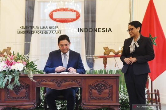 Menlu Maroko harapkan kemajuan hubungan bilateral dengan Indonesia