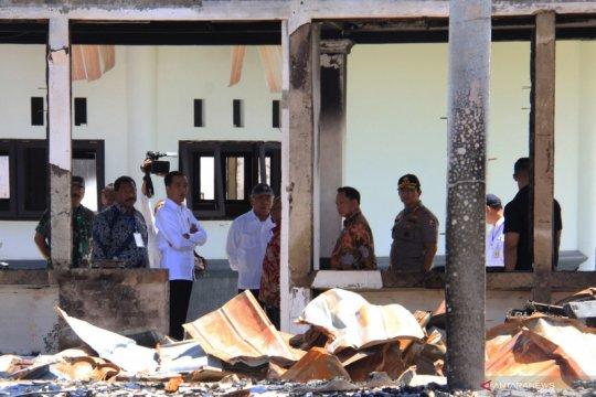Wamen PUPR: Baru 10 ruko korban kerusuhan Wamena yang dibangun