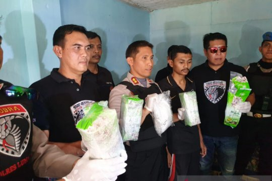 Polres Lumajang sita 5 kg sabu dari jaringan narkoba Madura