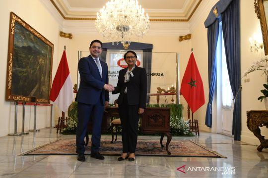 Menlu Indonesia terima Menlu Maroko