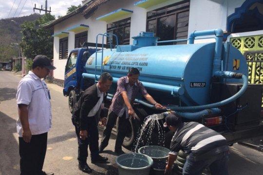 LPBINU-BPBD Kediri kirim air bersih untuk warga