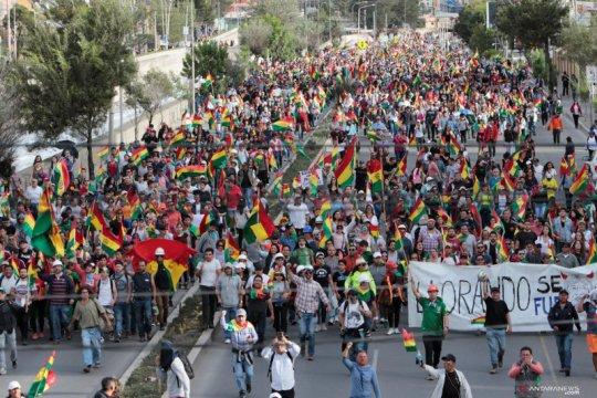 Pemimpin oposisi Bolivia serukan pemilihan baru