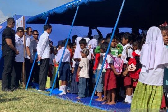 Presiden janji tindak lanjuti aspirasi kenaikan APBD Maluku