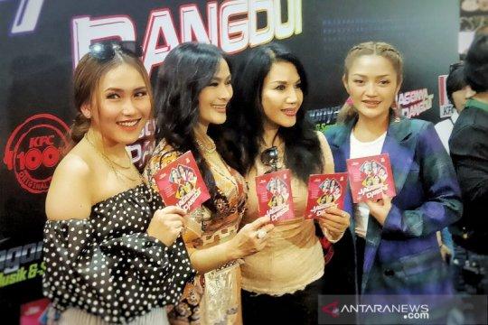 Lima diva dangdut Indonesia rilis album kompilasi