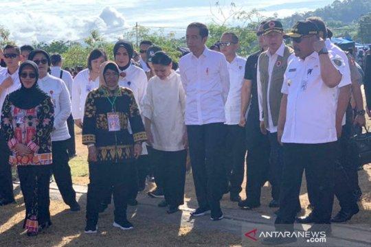 Presiden minta konsep rumah tahan gempa NTB diterapkan di Ambon