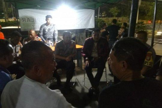 Polres Jaksel adakan potong tumpeng cegah tawuran warga