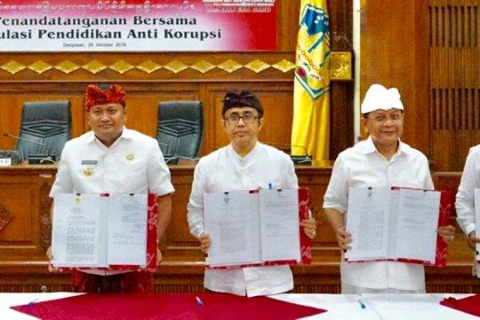 Pemda se-Bali sepakati pendidikan antikorupsi di sekolah