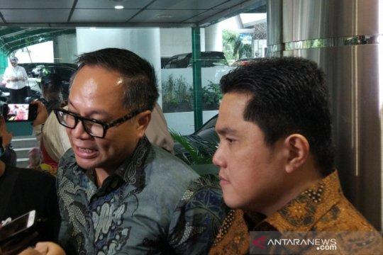 Dua menteri merapat ke kantor Luhut bahas progres LRT Jabodebek