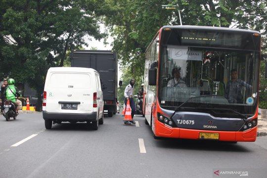 Rekayasa lalu lintas Jalan Kemang Raya Jaksel ditunda
