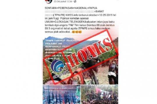 Informasi  penembakan Anggota Densus 88 di Kabupaten Intan Jaya, ini penjelasannya