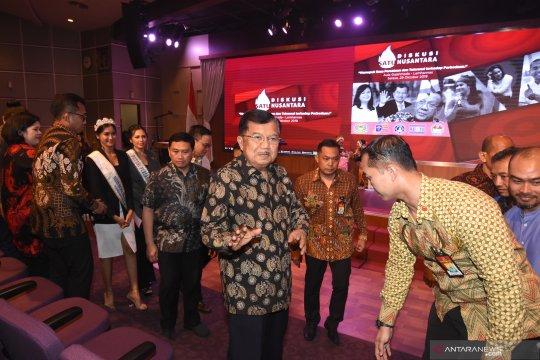 JK pembicara diskusi Satu Nusantara