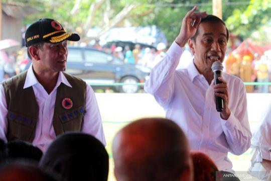 Jokowi janji dana bantuan gempa Ambon diberikan langsung ke korban