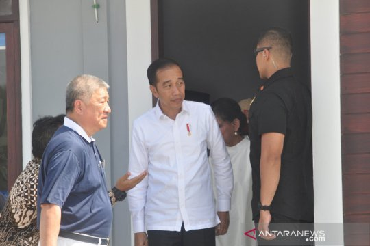 Jokowi minta hunian tetap korban bencana Palu segera dirampungkan