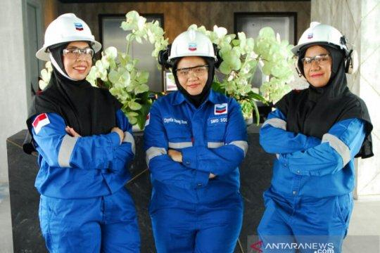 Chevron luncurkan hijab khusus lindungi pegawai perempuan