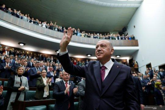 Erdogan: Turki telah tangkap istri Al-Baghdadi di Suriah