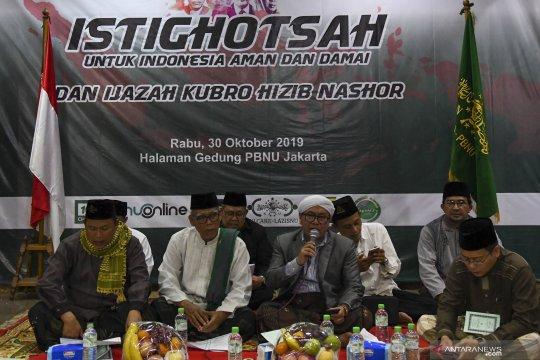 Istighosah untuk Indonesia aman dan damai