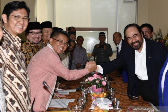 Surya Paloh bertandang ke DPP PKS