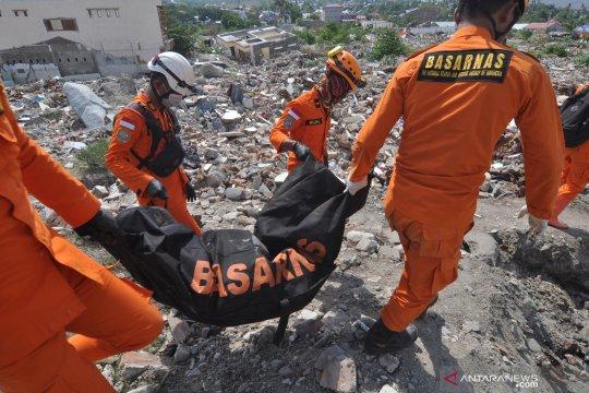 Temuan tujuh jenazah korban likuefaksi Balaroa