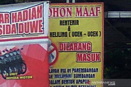 """Pemerintah Kota Sukabumi berantas """"Bank Emok"""""""